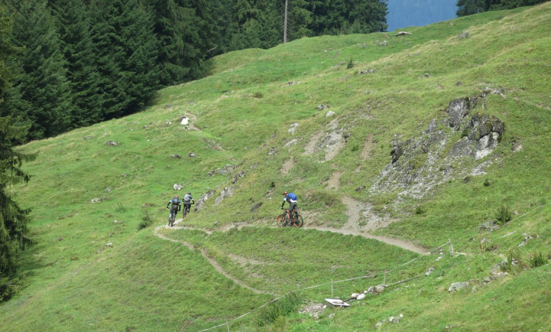 Bike-Wochenende Davos vom 1.-3.9.17